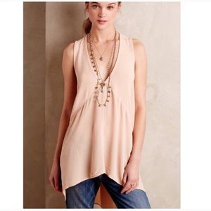 Anthropologie Left Of Center Avie Tunic Top